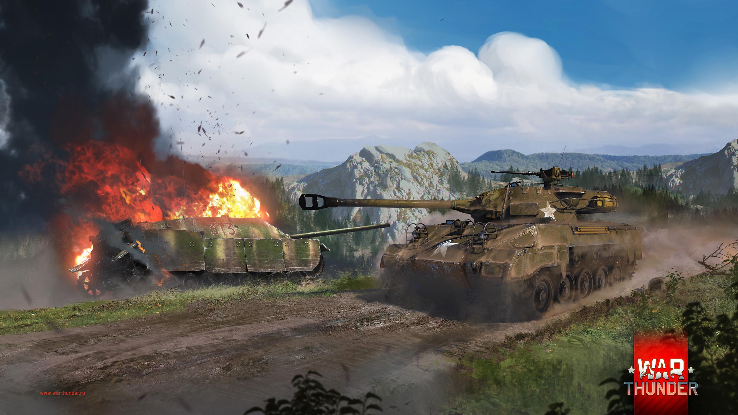 рисунок M18 vs Jagdpanzer IV