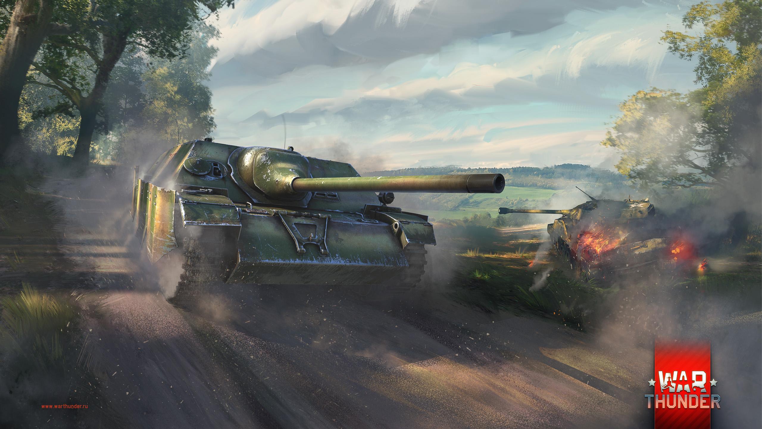 рисунок War Thunder Jagdpanzer IV