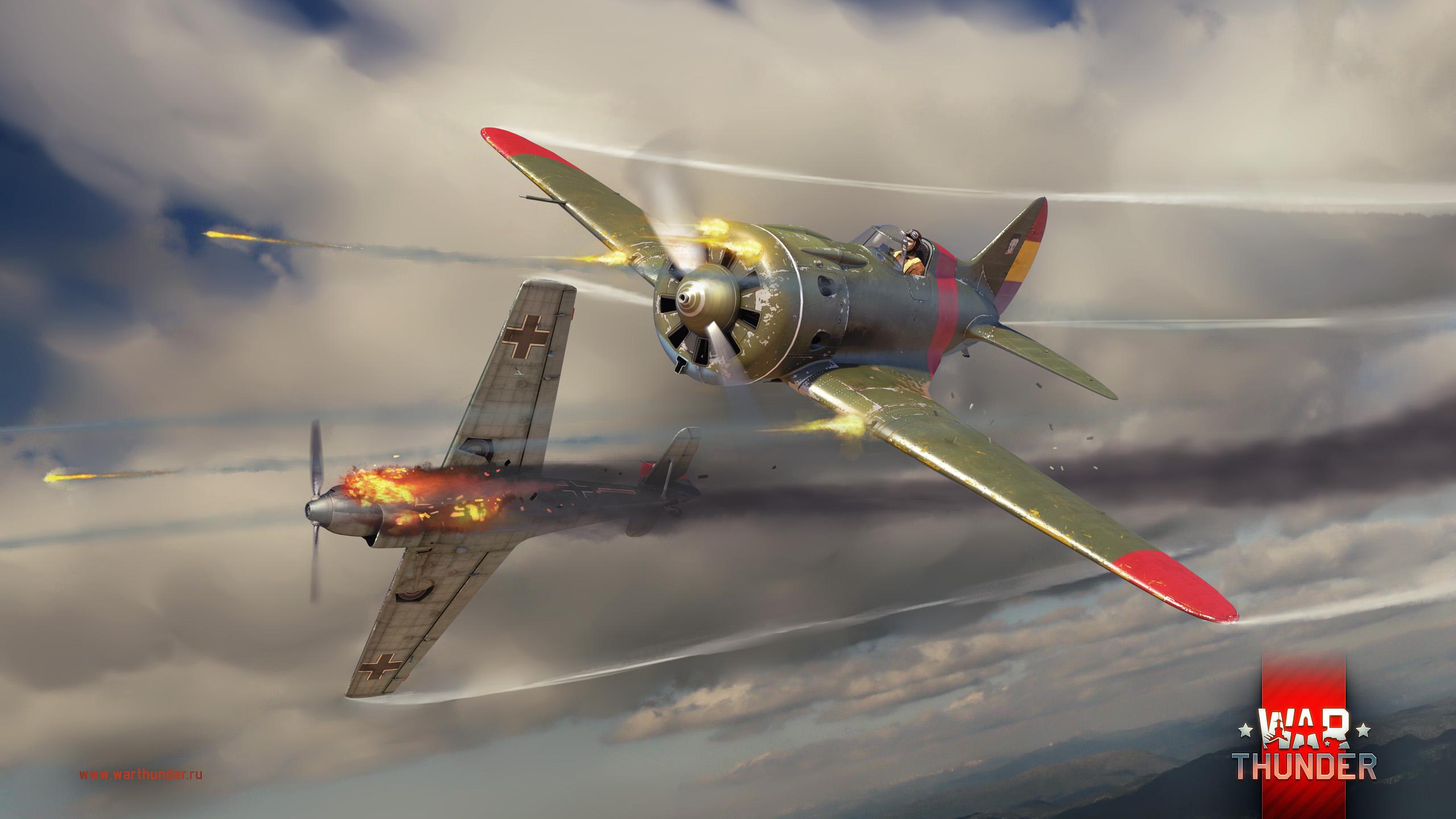 рисунок И-16 тип 10 vs Bf-109