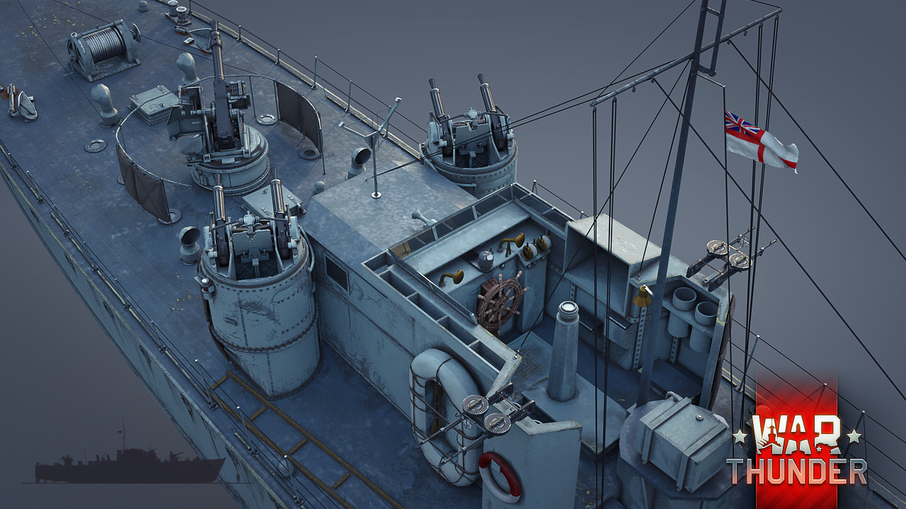[Development] The Fairmile D motor torpedo boat: Dog Boat - News - War Thunder