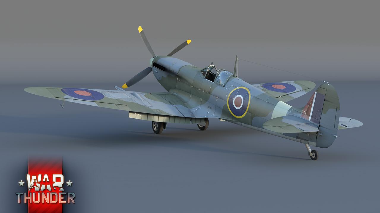 spitfire вар тандер