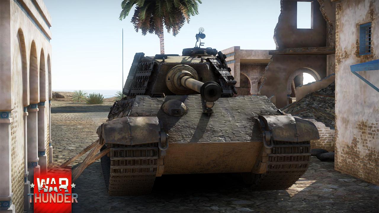 tiger 2 в war thunder