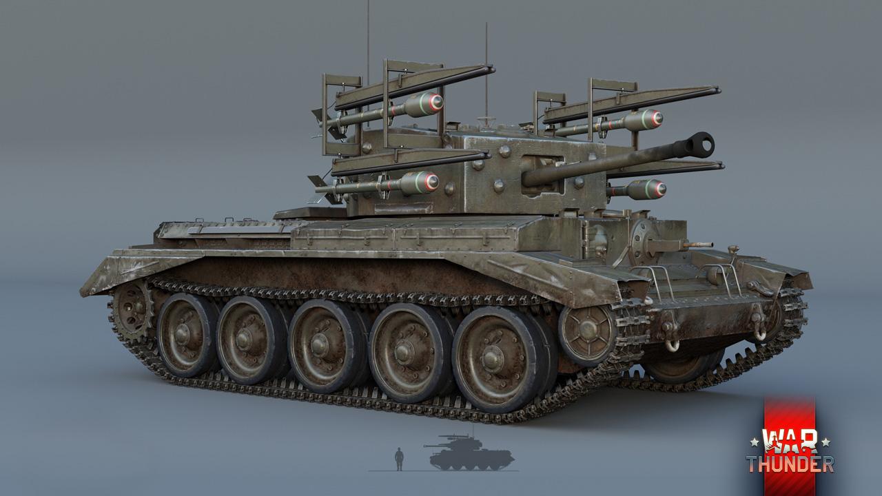 кромвель танк вар тандер