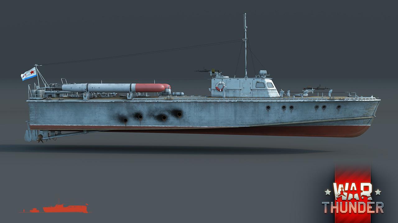 [Development] D-3 torpedo boat: Warrior of the North - News - War Thunder