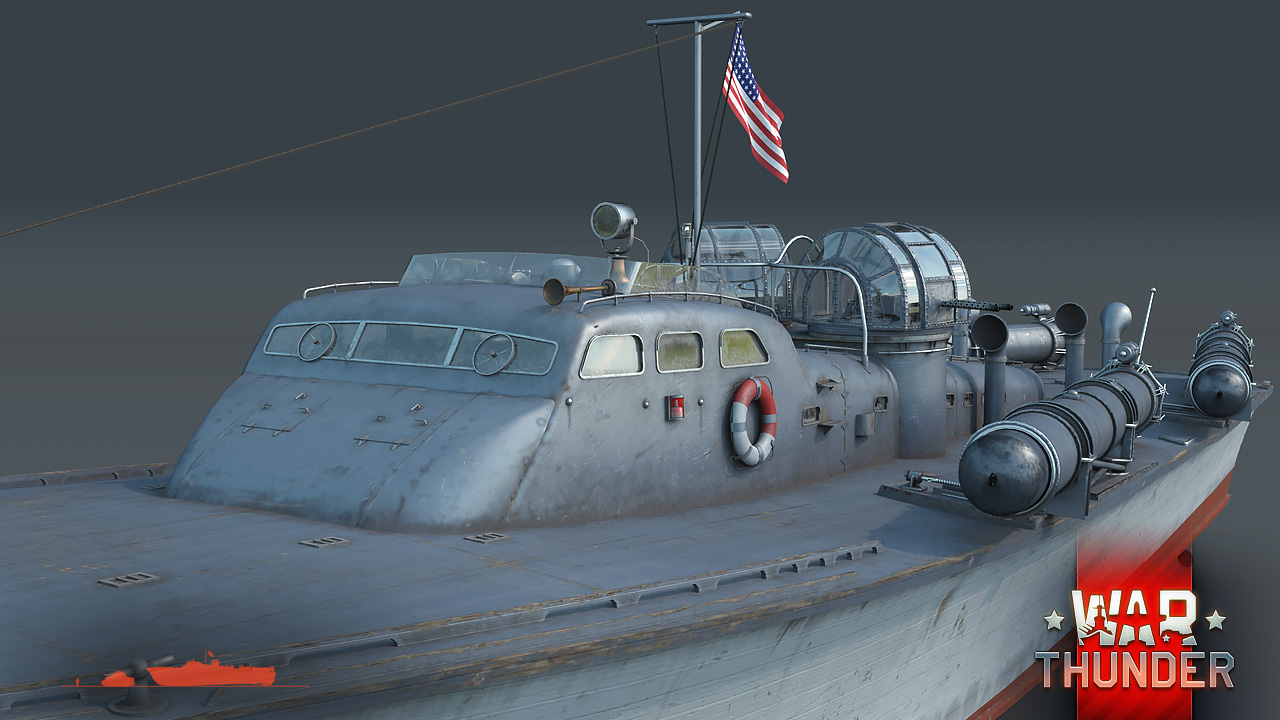 Development] 77 ft Elco PT-20 Class torpedo boat: Powerful