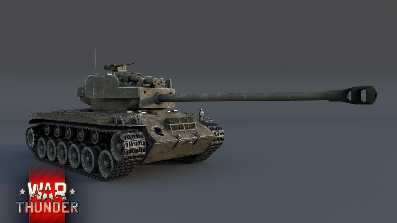 танк супер першинг в вар тандер