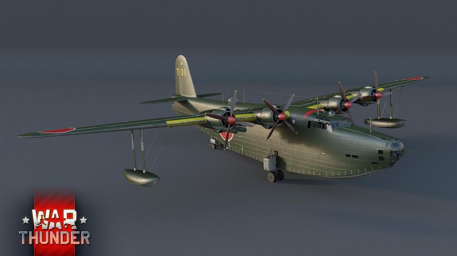 WarThunder:H8K2: O Cruzador Aéreo Japonês