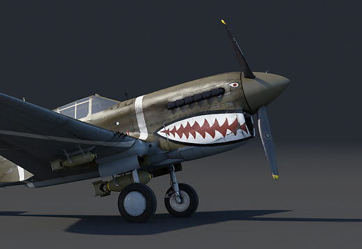 Curtiss P-40F