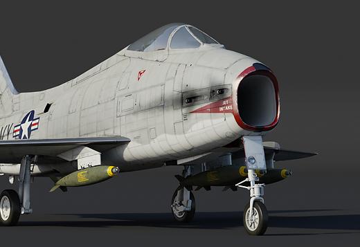 FJ-4B Fury