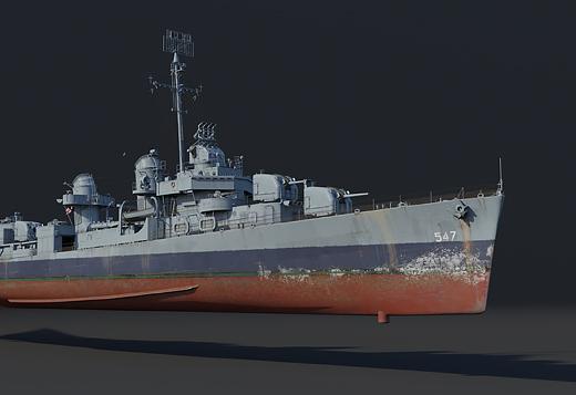 USS Cowell (DD-547)