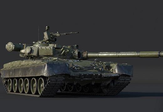 Т-80Б и Bat.Chat. Char 25t