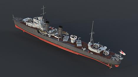 HMS Grafton (H89)