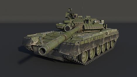 Т-80Б c ДЗ