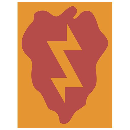 Эмблема 25-й пехотной дивизии, армии США
