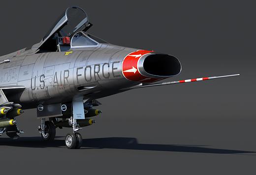 F-100D Super Sabre:
