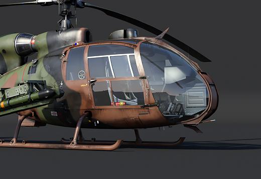 SA.341F и SA.342M Gazelle