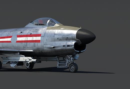 F-86K Sabre Dog