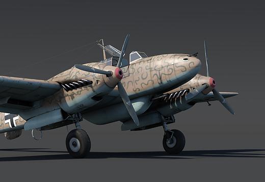 Bf.110 C-6 2 ранг, Германия
