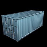 Грузовой контейнер (Базовые материалы)