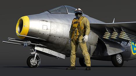 Saab J-29D