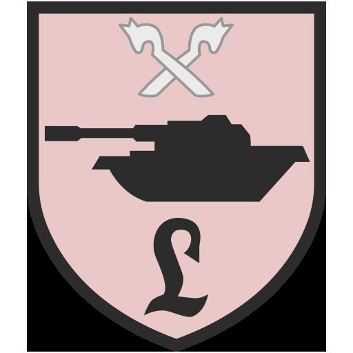Эмблема 93-го бронетанкового батальона, Бундесвер