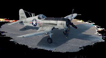 AU-1 Corsair (США) — премиумный, 4 ранг
