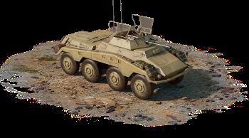 Sd.Kfz.234/1 (Германия) — премиумный, 1 ранг