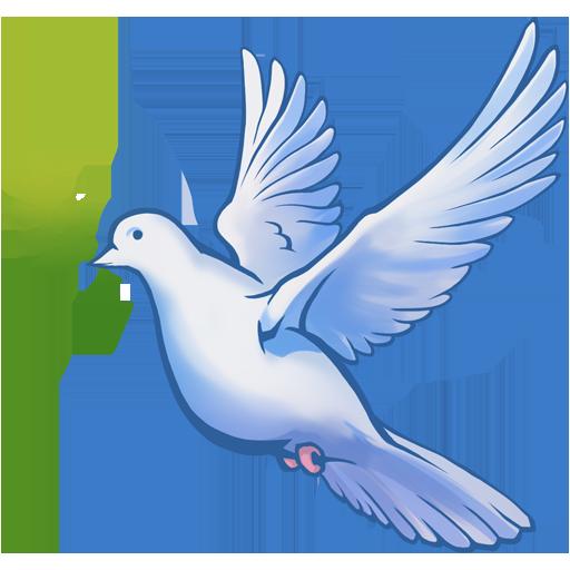 Декаль «Голубь мира»