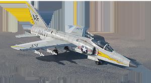 F-11F-1 Tiger 6 ранг, США, акционный