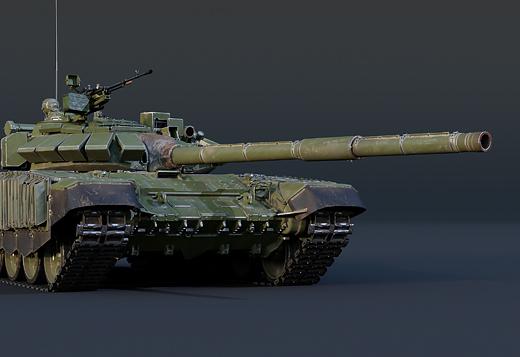 Новые модификации танка Т-72