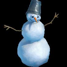 Декоратор «Снеговик»