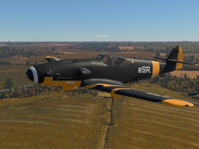 "Камуфляж ""eSports Ready"" для Bf.109K-4"