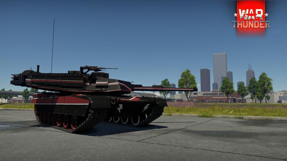 Камуфляж M1A1 Abrams