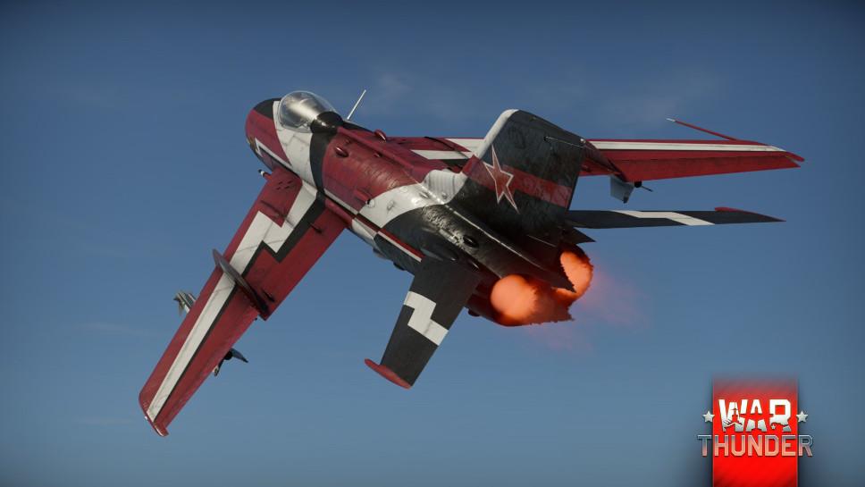 Камуфляж МиГ-19ПТ