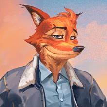 Иконка пилота «Лис»