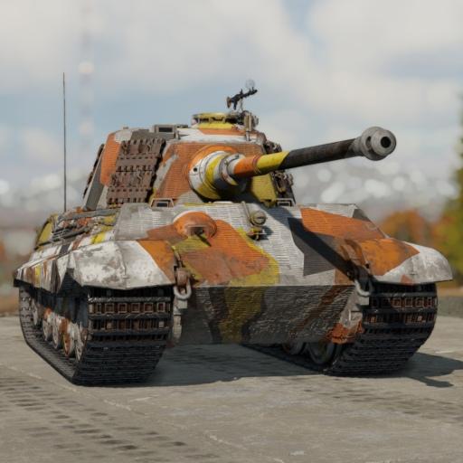 "Камуфляж ""OlySt team"" для Tiger II (H)"