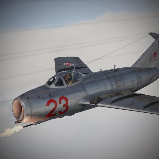 Камуфляж для Миг-15 бис «Красный 23» Ю.А. Гагарина.