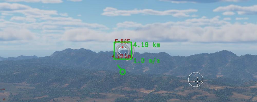 Уровень сигнал/шум низкий, ракета скорее всего не захватит цель/