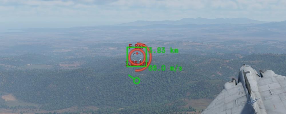 Уровень сигнал/шум достаточный, вероятность захвата цели ГСН высокая
