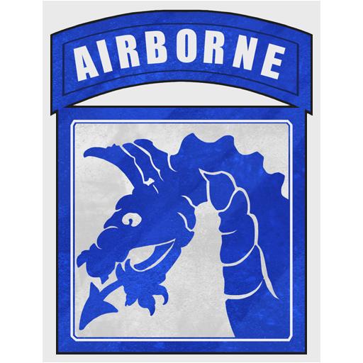 """Декаль """"США. XVIII Airborne Corps"""