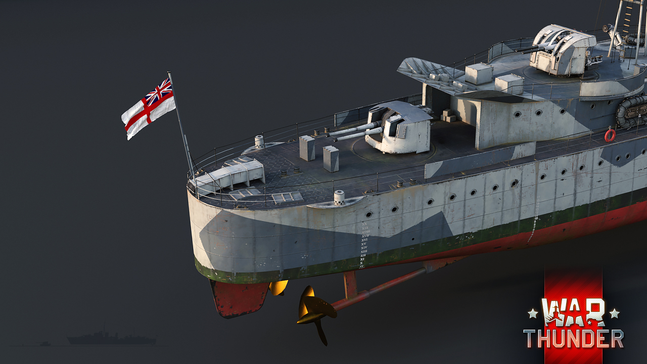 эсминцы в вар тандер