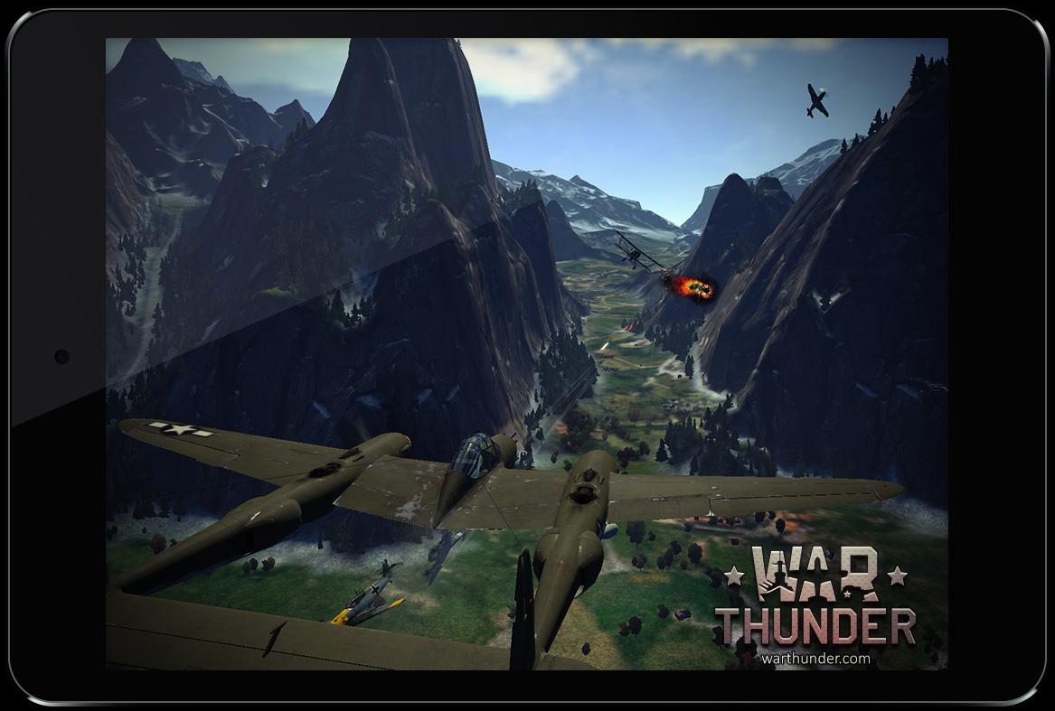 war thunder мобильный
