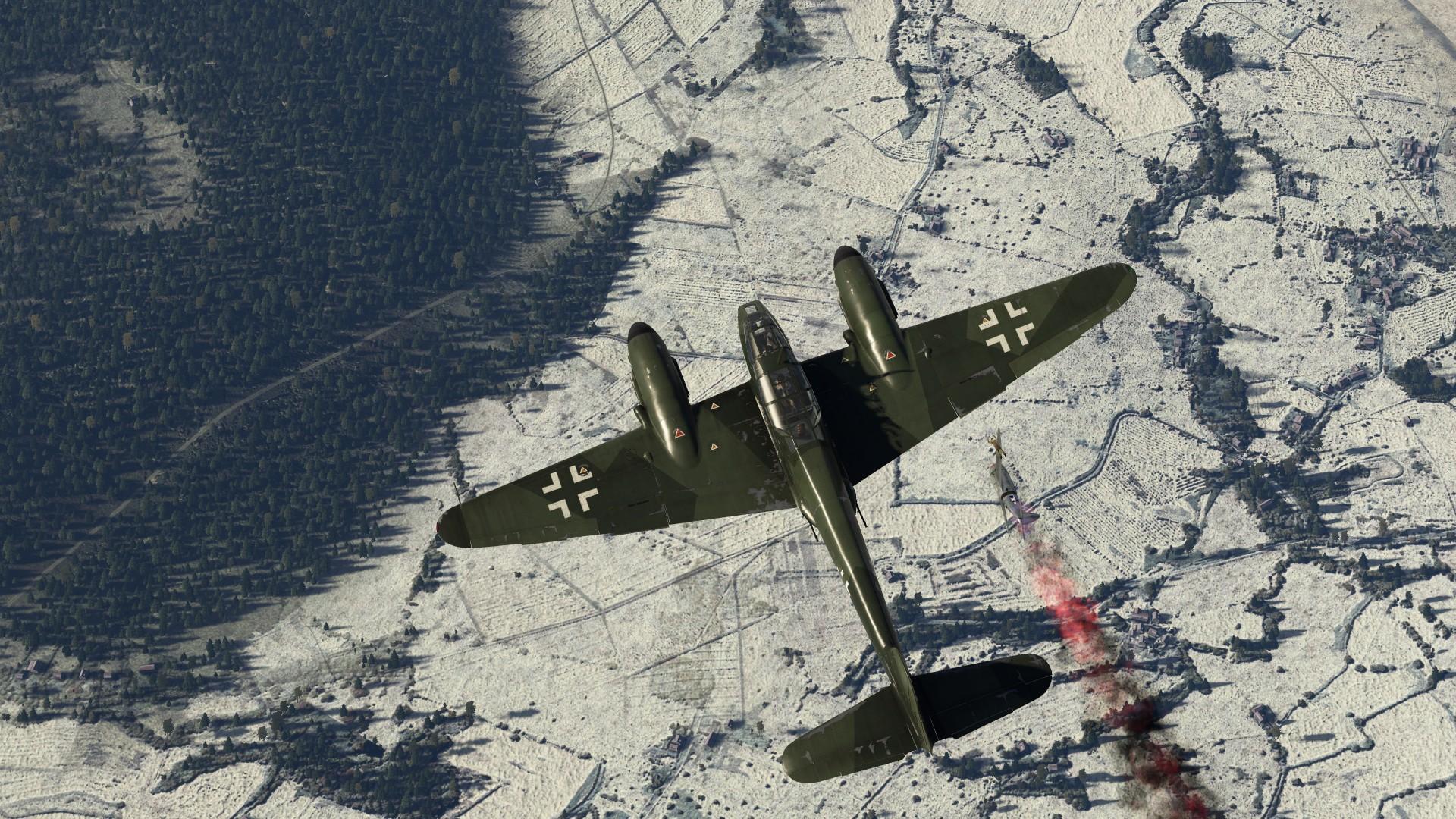 Обои Ме-410, war thunder, Самолёт, истребитель, война, Облака. Игры foto 18