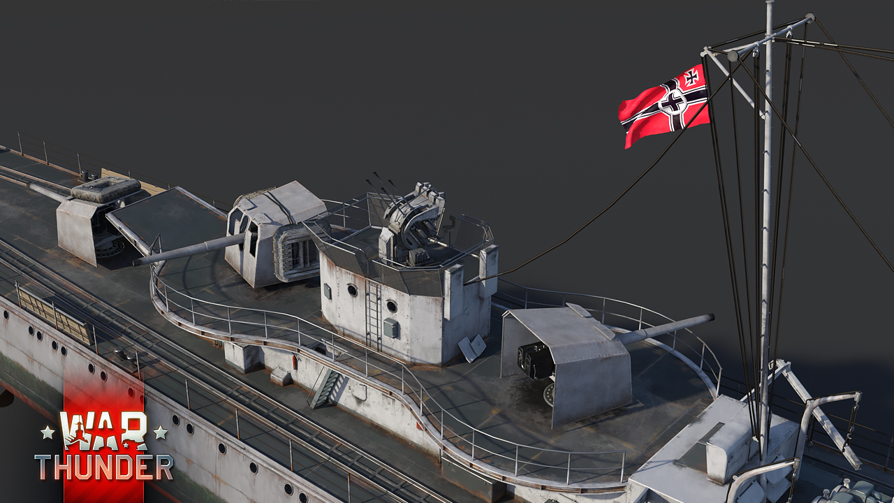 Development] Type 1936 Class Destroyer - News - War Thunder