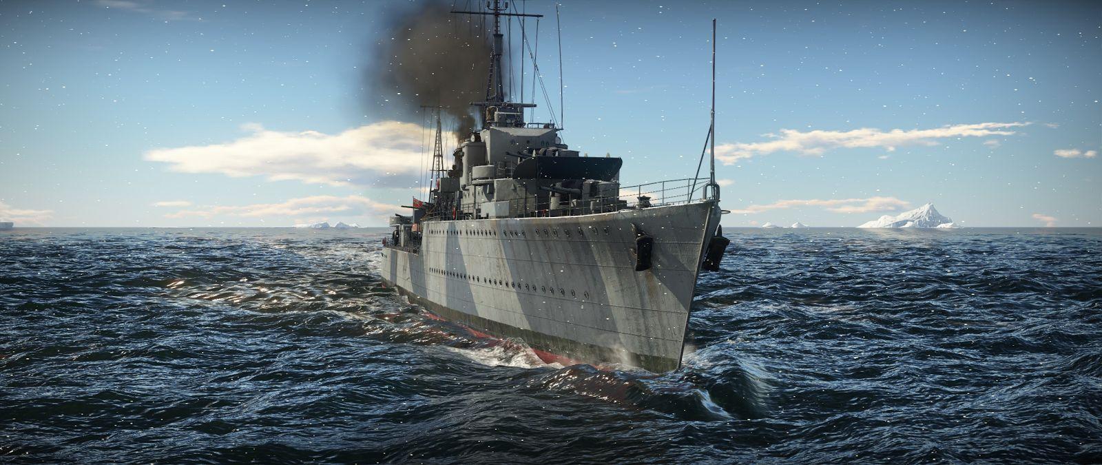 war thunder дата выхода флота