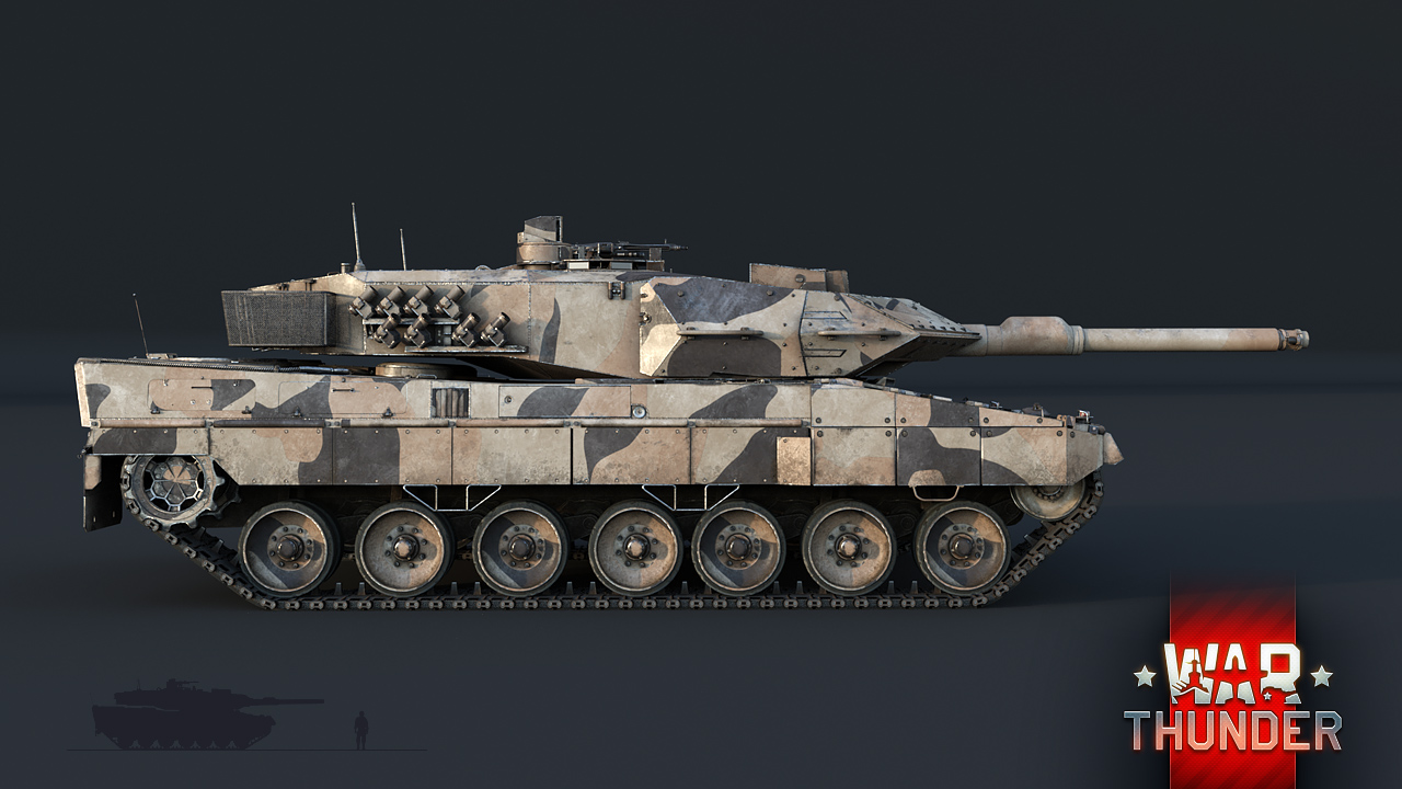 leopard 2a5 shield of the west news war thunder. Black Bedroom Furniture Sets. Home Design Ideas