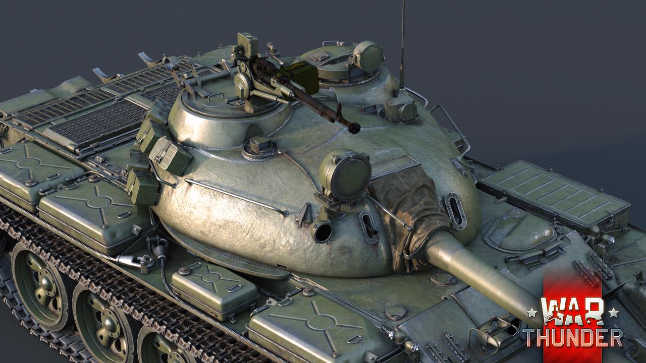 war of thunder т54