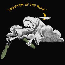 """Декаль """"Призрак Рура"""" 100-й эскадрильи РАФ"""