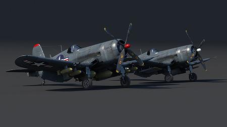 F4U Corsair США