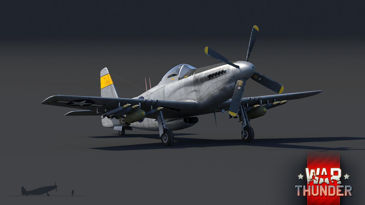 War Thunder P 51h Mustang The Armored Patrol